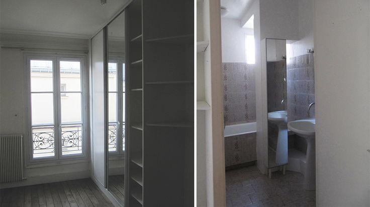 Avant / Après : Une verrière intérieure pour séparer sans cloisonner !
