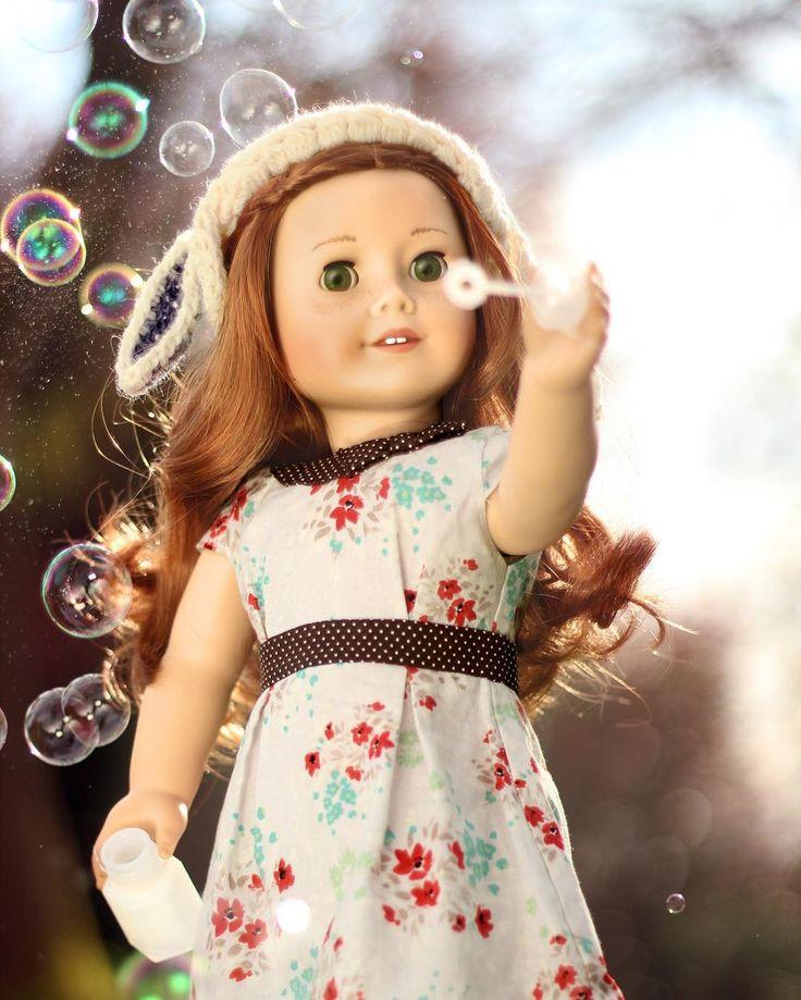 Beautiful American Girl Doll photo.