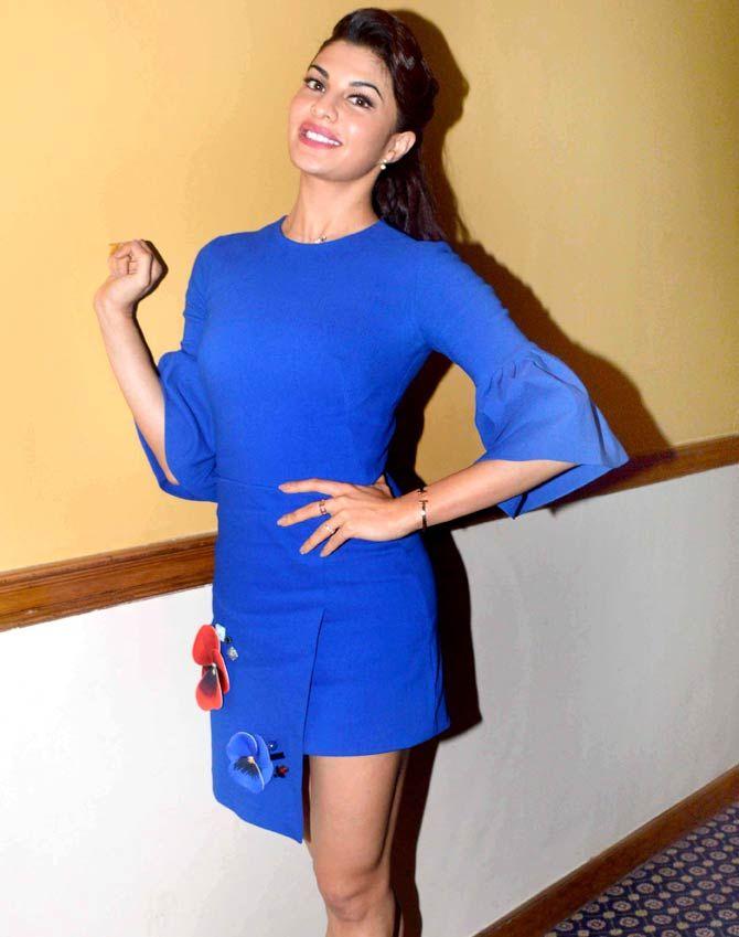 Jacqueline Fernandez at a promo event for #Housefull3.