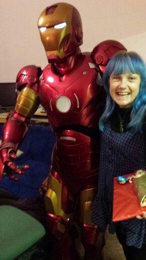 Me & Ironman Friday 4th December 2015. #partyheros