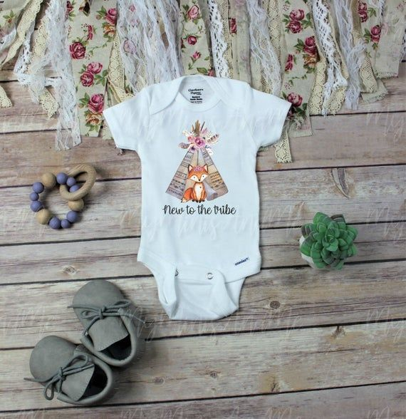 New to the Tribe Baby Vest Babygrow Bodysuit One Piece Baby Shower Gifts Baby