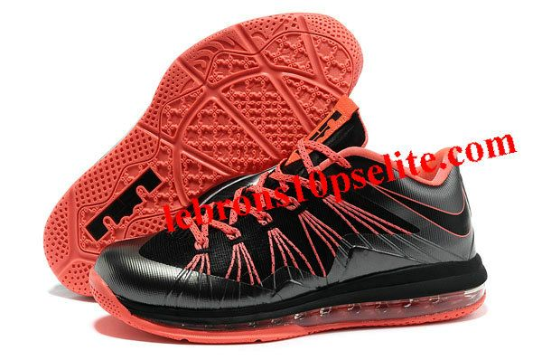 Nike Air Max Lebron X Low Black/Red