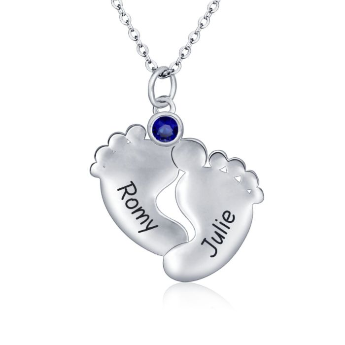 Valentines Love Sale is ON NOW!! Choose from a beautiful range of gifts for your Valentine with standard trackable post included! Save an additional 5% off the already reduced Sale prices for purchases of AU$100 or more - just enter code OZ5 at checkout! https://ozbuddie.com/collections/on-sale #OzBuddieSale #Love #Hearts #Gifts #ValentinesDay #ValentinesDaySale #ValentinesDayGift #BeMyValentine #LoveIsInTheAir #WantIt #NeedIt #GiftIt >>>  Two Tootsies Baby Footprint Birthstone Necklace…