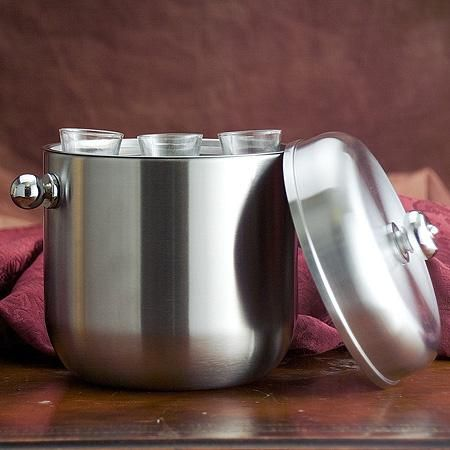 Stainless Steel Bucket/6 Shoot