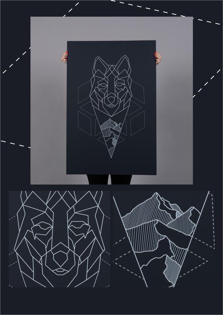 "Titta på det här @Behance-projektet: ""Poster 60x90 cm Theme: Graphic Winter ""Wermland"""" https://www.behance.net/gallery/45430579/Poster-60x90-cmTheme-Graphic-WinterWermland"