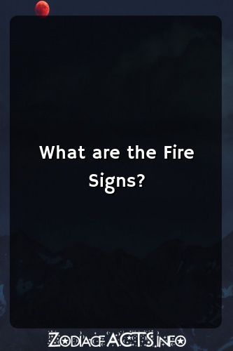 What are the Fire Signs? #horoscopes #leo #libra #capricorn