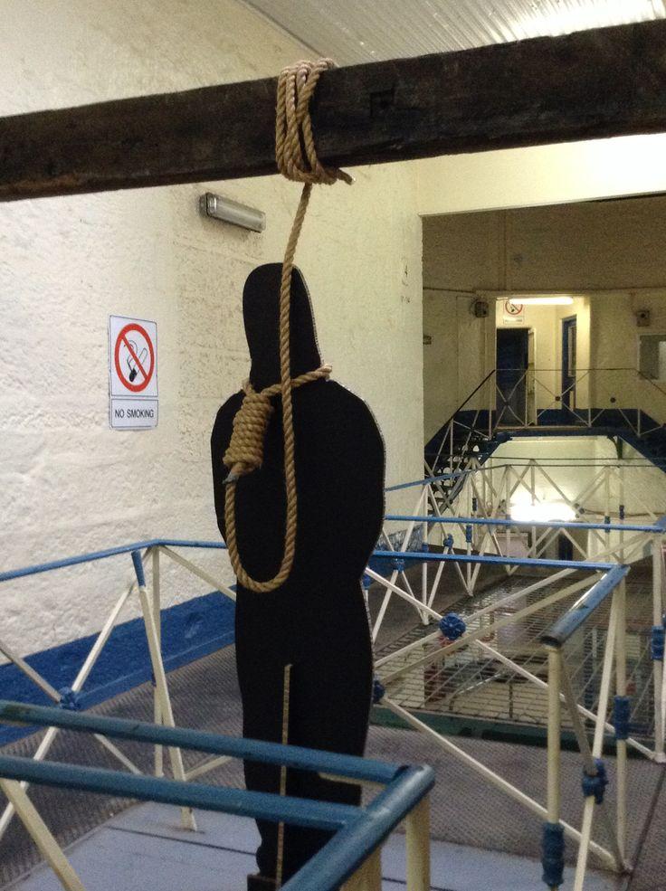 The gulley in Beechworth Prison