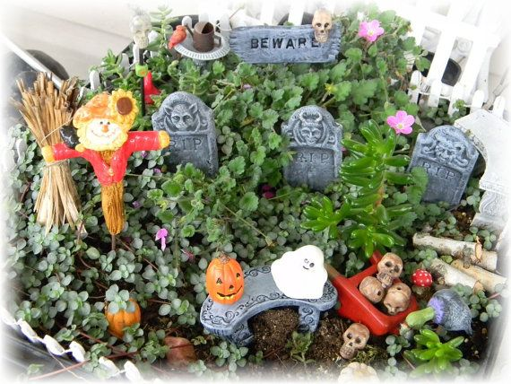 18 best Halloween Fairy Garden Ideas images on Pinterest ...