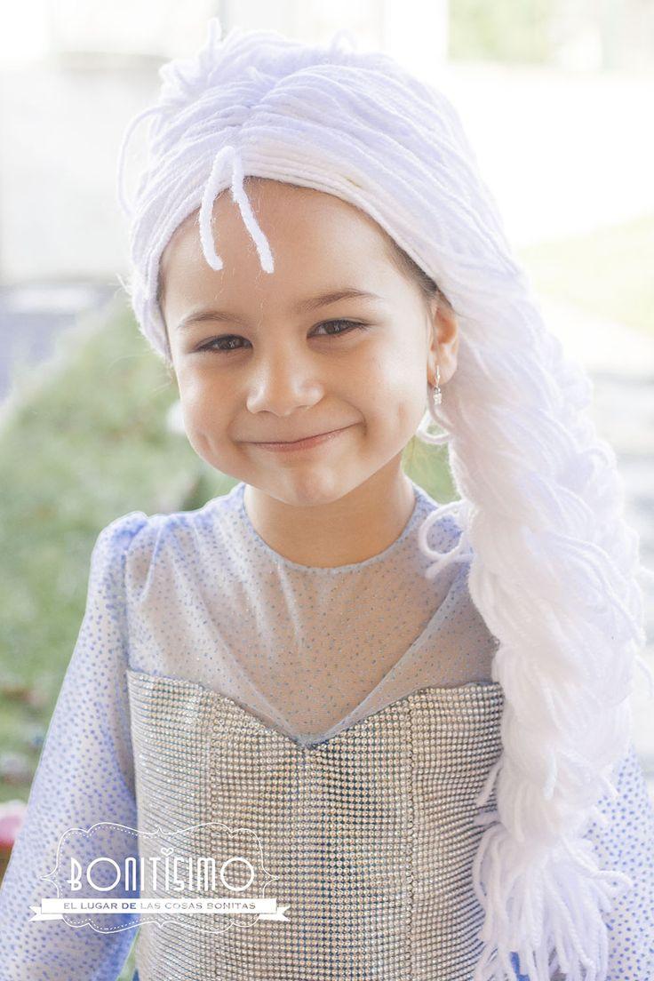Bonitisimo: Como hacer una peluca de lana para disfraz de Elsa