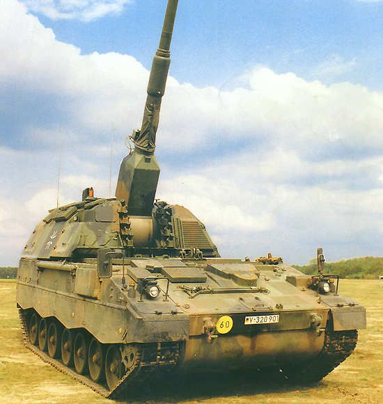 The 155mm L52 gun of the PzH 2000 was developed by Rheinmetall Industrie AG. - Image - Army Technology