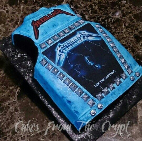 #metallica cake