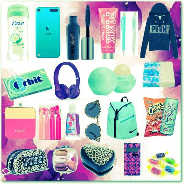 """Hope you like this as much as I do! """"School Emergency Kit For Girls! ❤️ #Springforward"""""""