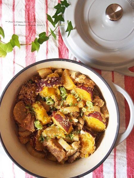 鶏と薩摩芋の韓国風胡麻煮 by みゆぽむ | レシピサイト「Nadia | ナディア」プロの料理を無料で検索