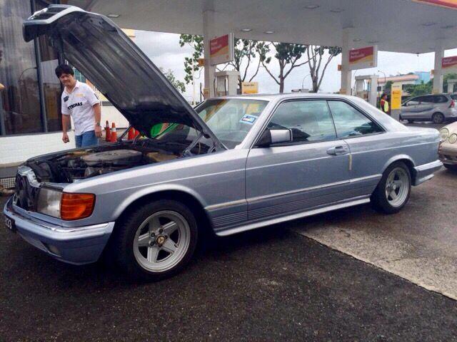 "1986 W126 ""Eagle Coupe"" 500SEC  Visit on audinwest.blogspot.com"