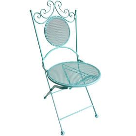 Picture of Mesh Fold Princess Chair Aqua
