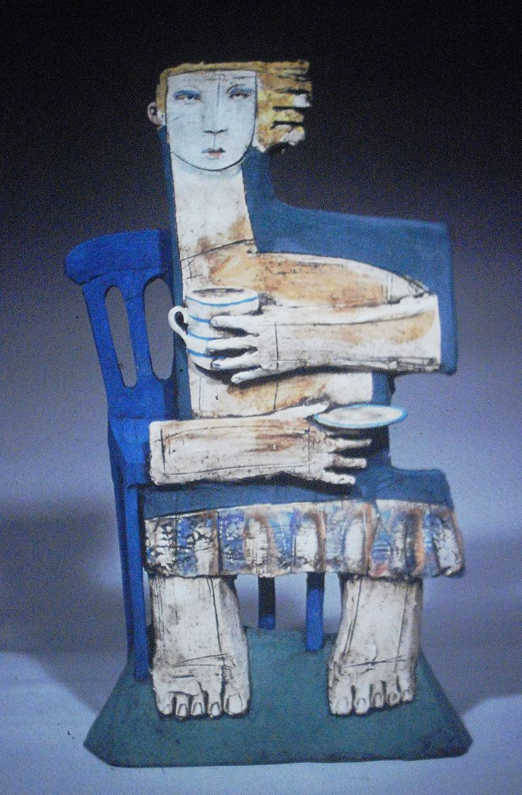 Gallery of Images of ceramic sculptures that Christy Keeney has created