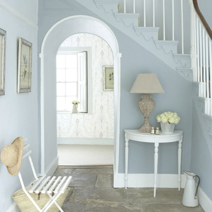 Love this pale blue colour and the