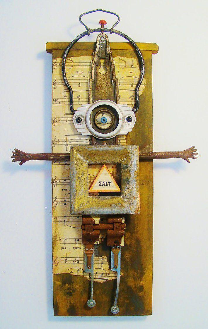 93 best My Art - Assemblage images on Pinterest | Assemblage art ...