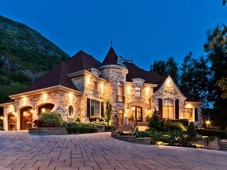 Элитные дома - Дом из бревна