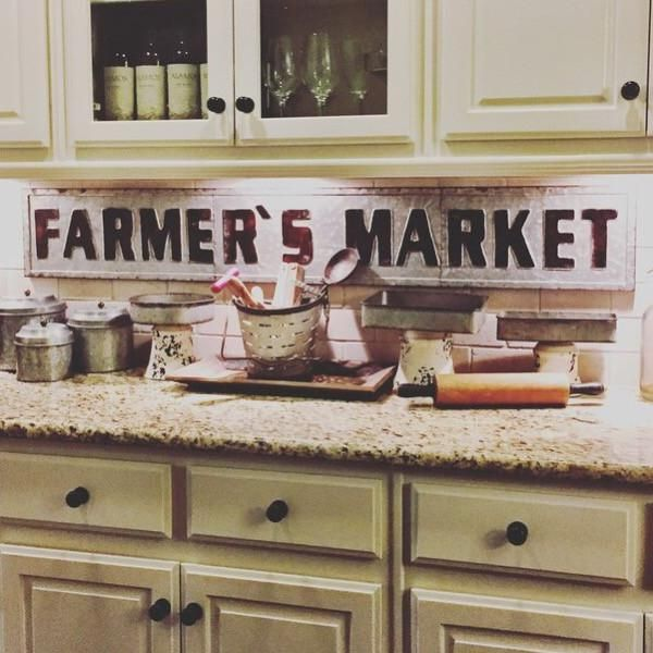Awesome Farmers Market Sign