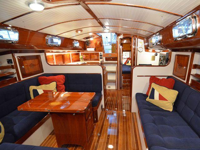 Sailboat interior design ideas