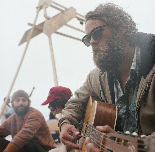 the ol' beard guitar match-up
