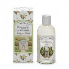 Gyöngyvirág illatú fürdő- és tusolózselé - Rendeld meg online! Lerbolario Naturkozmetikumok http://lerbolario-naturkozmetikumok.hu/kategoriak/testapolas/tusfurdok