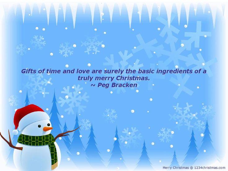 Nice Christmas Quotation Wallpaper