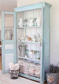 Kitchen Cabinet - backboard - tongue & groove