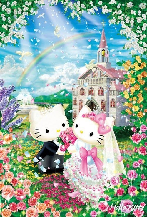 Hello Kitty And Dear Daniel Wedding