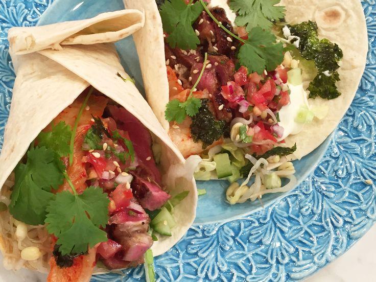 Koreansk taco | Recept från Köket.se