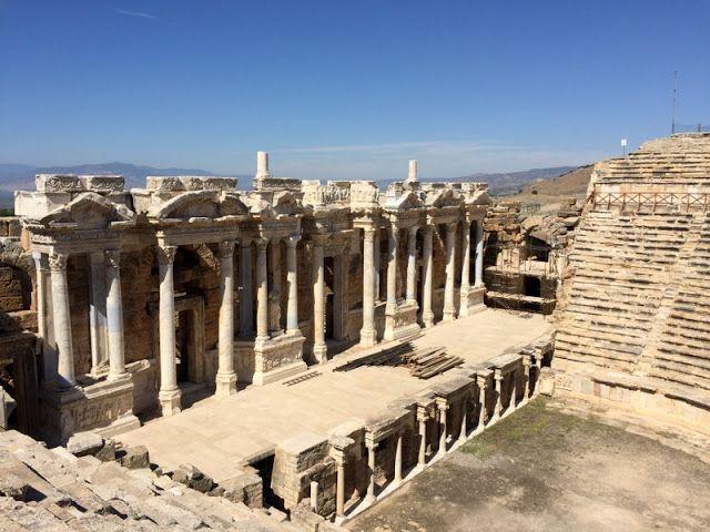 Denizli Pamukkale Hierapolis Antique City 2016.