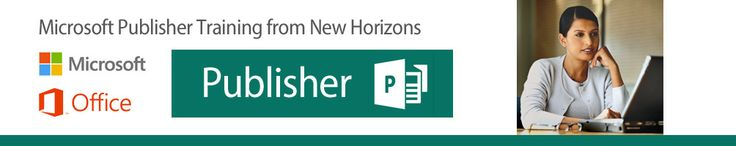 Microsoft Publisher is an easy-to-use program that produces stunning, professional results. It is a layout and design tool used to create documents that fall outside of normal word processor capabilities, such as flyers, catalogs, bulletins and posters. Whether you are new to Microsoft Publisher or looking to learn tips and tricks, New Horizons has the class you need. #NewHorizonsWI #Microsoft #Publisher