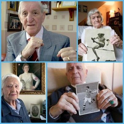 Já em clima de Olimpíadas... estes são os vovôs atletas, membros da equipe britânica dos Jogos Olímpicos de 1948!   Um pouco de nostalgia e orgulho com histórias e fotos destes atletas que participaram da última vez que Olimpíadas foi realizada em Londres!  A exposição está na Galeria Tokarska até o dia 21 de julho.