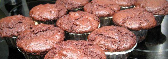 Post image for Chokolade muffins med nødder