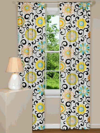 This site has THE cutest curtains ever!