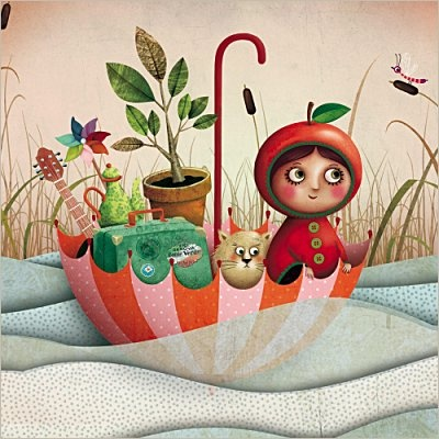 Visual Writing Prompt (Marie Desbons Illustration)