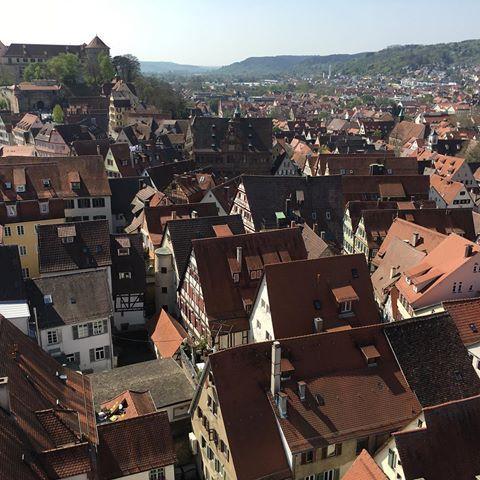 Über den Dächern der Tübinger Altstadt #tübingen