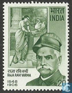 Avec Ravi Varmâ, la peinture au XIX-XXème siècle en Inde