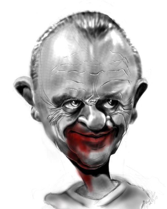 Hannibal Lecter by Steveroberts.deviantart.com