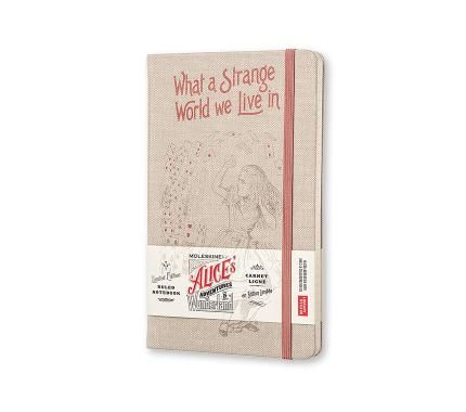 Limited Edition Notebook Alice - Ruled - Large - Hard Cover Canvas - Only in Moleskine Stores - Moleskine ®