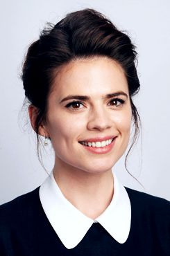 Hayley Atwell attends the Moet British Independent Film Awards 2013