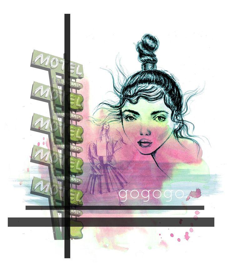 Fashion illustration collage by lara wolf #fashionillustration #fashion #illustration #larawolf