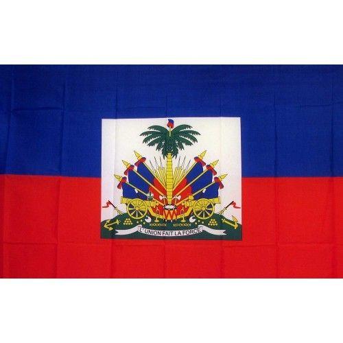 Haiti Country Traditional Flag