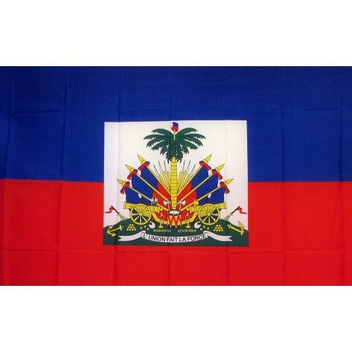 Haiti Country Traditional Flag