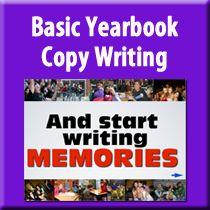 Teaching Yearbook Copy Writing