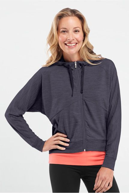 Sublime Long Sleeve Zip (short in length)