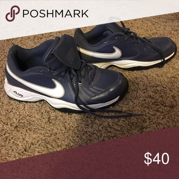 Daughter didn't like and now has out grown them. Nike turf shoes used for softball.  Maybe worn two times. Nike Shoes Athletic Shoes