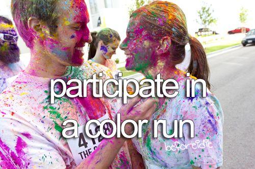 .: One Day, Fit, Cant Wait, Buckets Lists, Bucketlist Go, Fun, Things, Bucketlistttttt 3, The Color Running