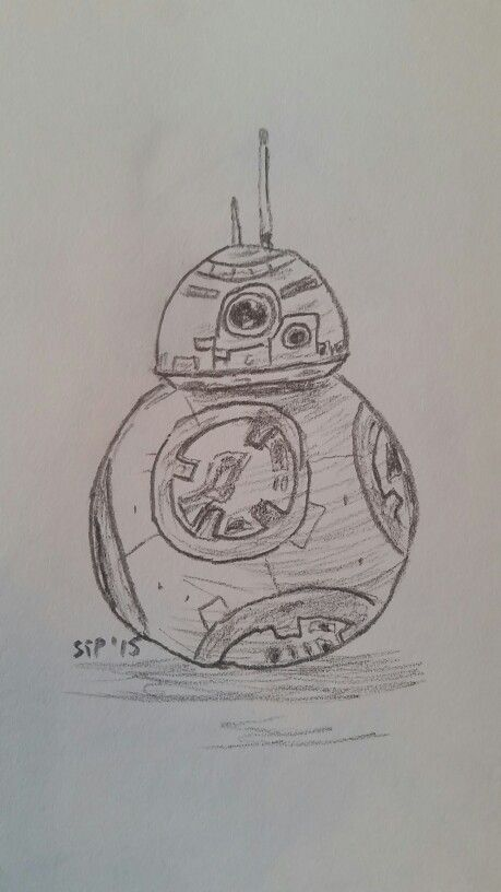 #BB8 #10minutesketch #stpartwork #2d #StarWars #StarWarsForceAwakens #fanart